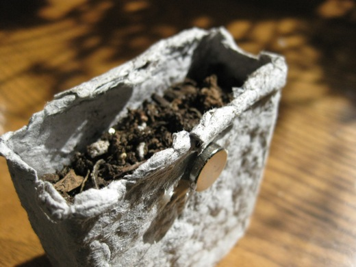 the planter with rare earth magnet