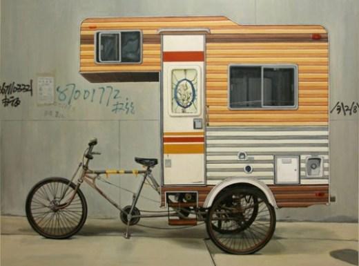 Kevin Cyr's Camper-Bike