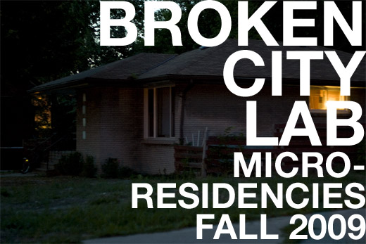 Broken City Lab: Micro-Residency