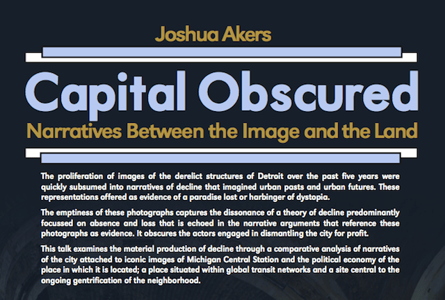Capital Obscured