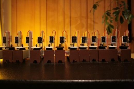 Plant-Reactive Robots Play Bamboo, Chinese Instruments at Royal Botanic Garden, Scotland