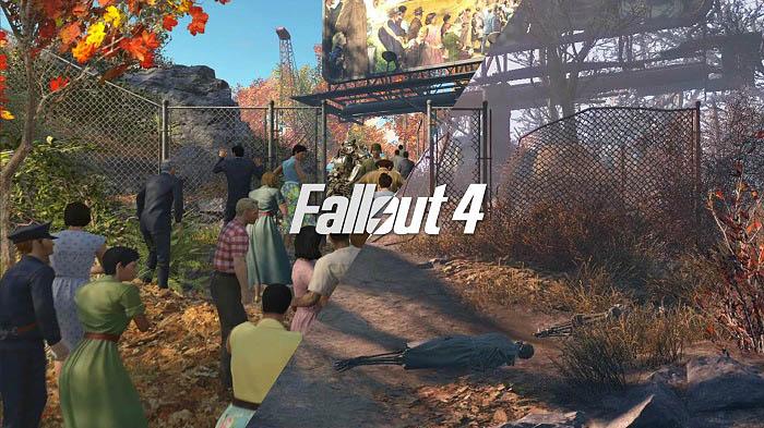 Skyrim Wallpaper Fall Kenny S Fallout 4 Log Day 7 Broken Joysticksbroken