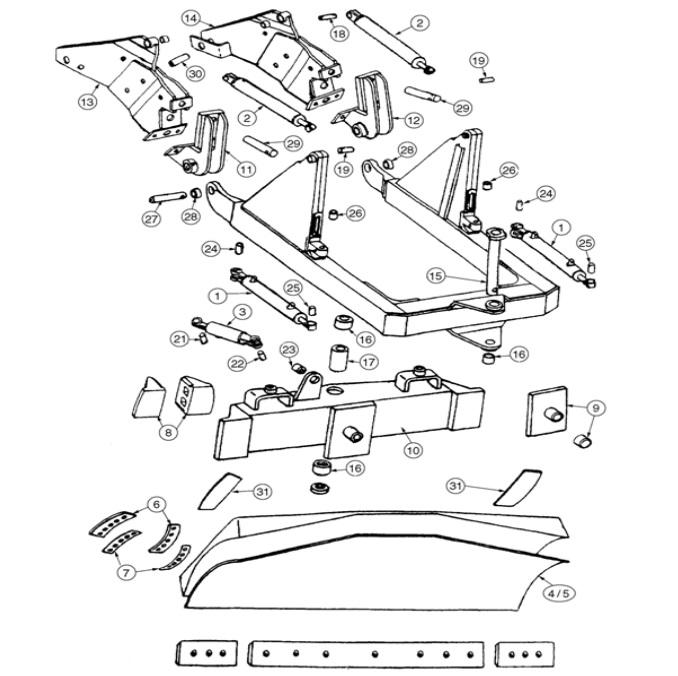 john deere 450 dozer wiring diagram