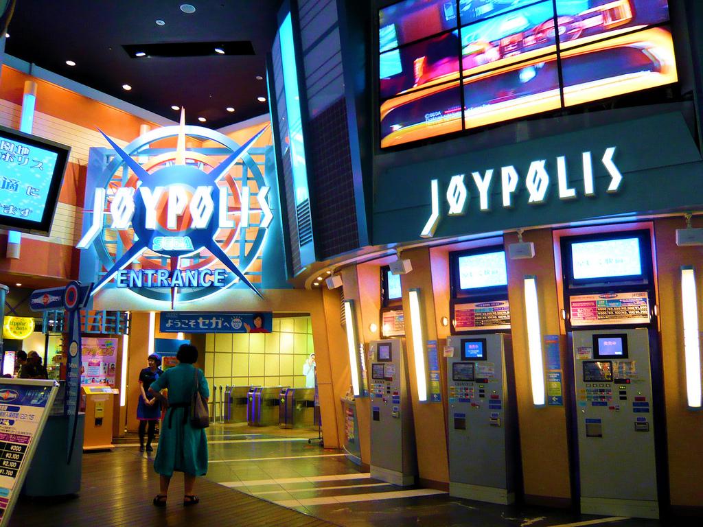 Unlimited Rides At Tokyo Joypolis Broke Tourist