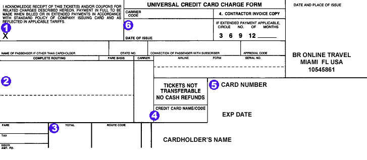 CREDIT CARD AUTHORIZATION FORM Fax Number+1-305-379