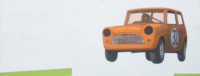 Steve Wright: CARS: paintings and works on paper by Steve Wright 8th May to 16th June 2017