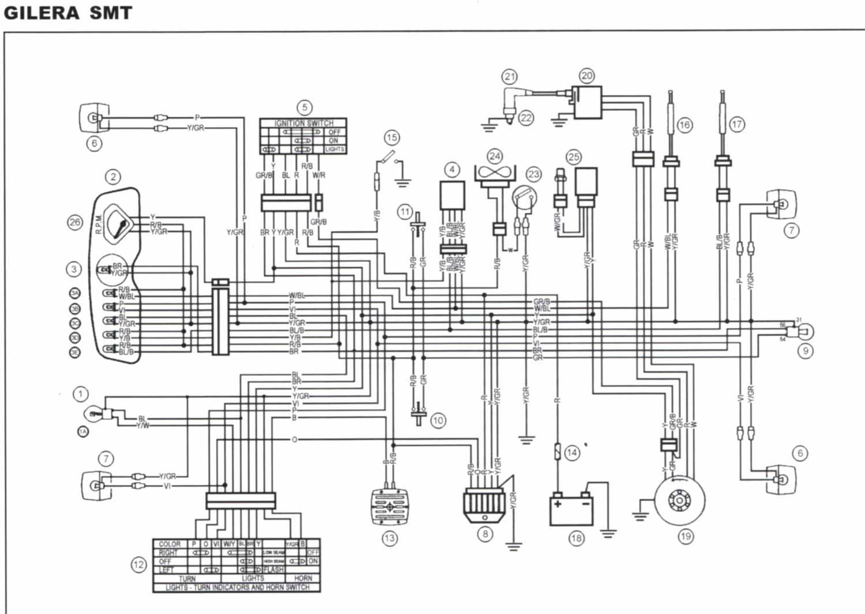 70cc bedradings schema