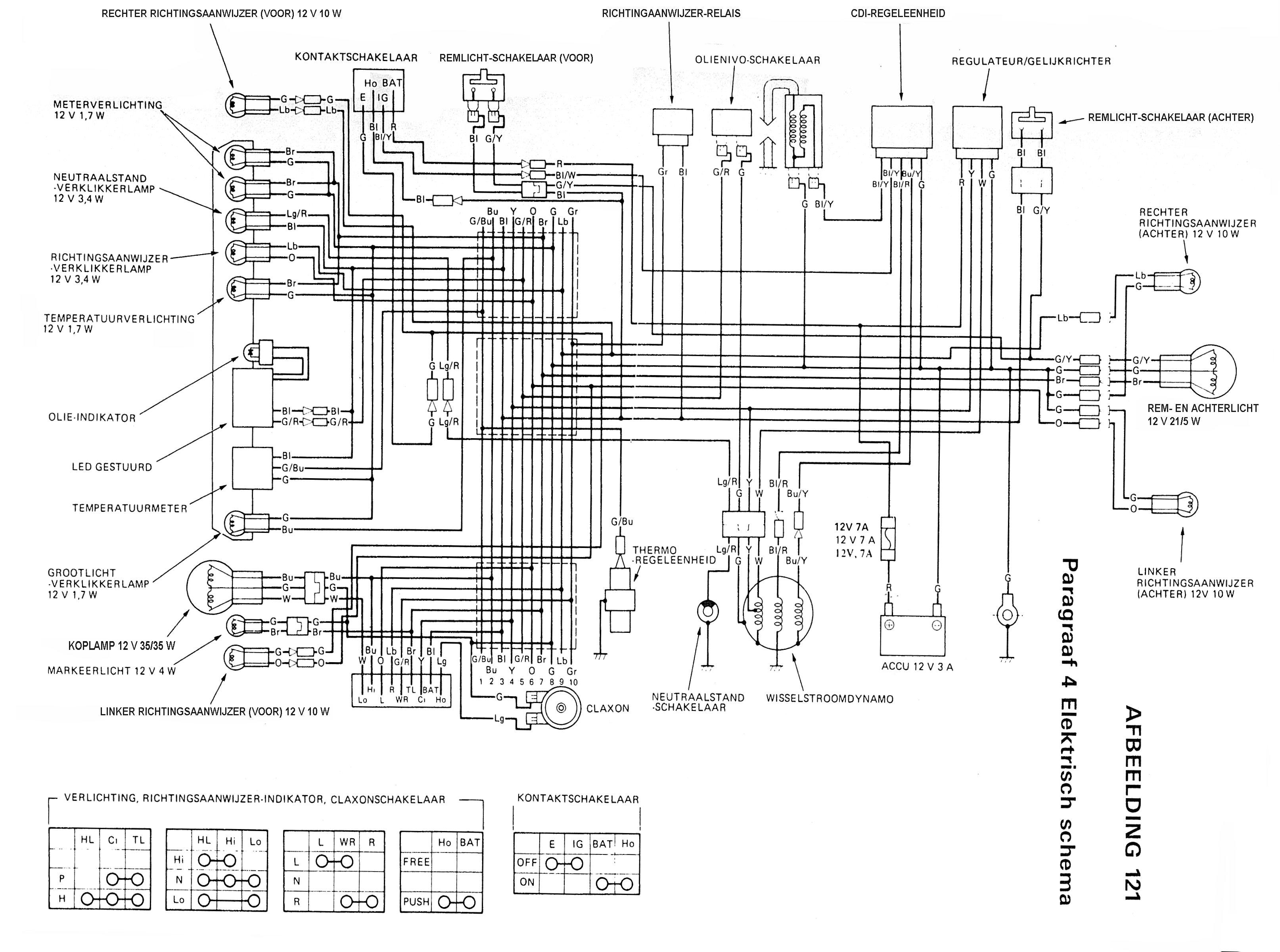 dr bedradingsschema kruisschakeling schema