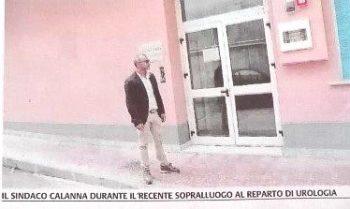 BRONTE: SOSPENSIONE DEL SERVIZIO DI UROLOGIA IL SINDACO CALANNA TORNA ALL'ATTACCO