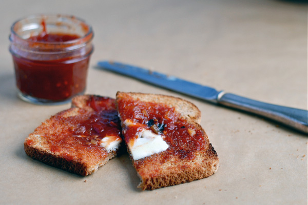 Tomato lime jam, via brooklynsupper.net; © Brooklyn Supper, all rights reserved