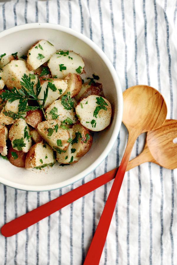 potato lime salad // brooklyn supper