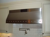 Stainless Steel Range Hoods - Brooks Custom