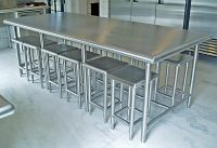Stainless Steel Kitchen Furniture - Brooks Custom
