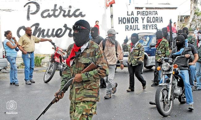 Colectivos-armados-en-Caracas