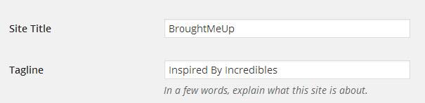 SEO WordPress Title
