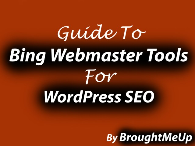 Bing Webmaster Tools for SEO