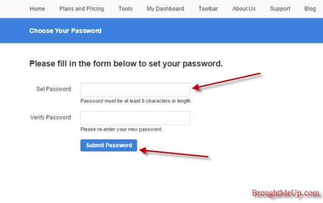 alexa account password