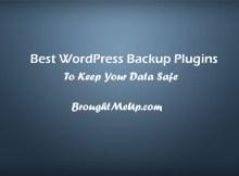 WordPress-backup-plugins