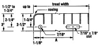 Typical Tread Dimensions - Stair Tread Design Details ...