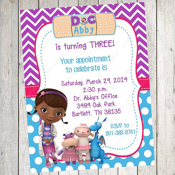 Birthday invitations templates word 78 best peyton party images doc mcstuffins party ideas brownie bites blog birthday invitations templates word stopboris Images