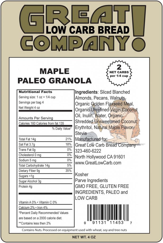 Paleo Maple Oat Bread