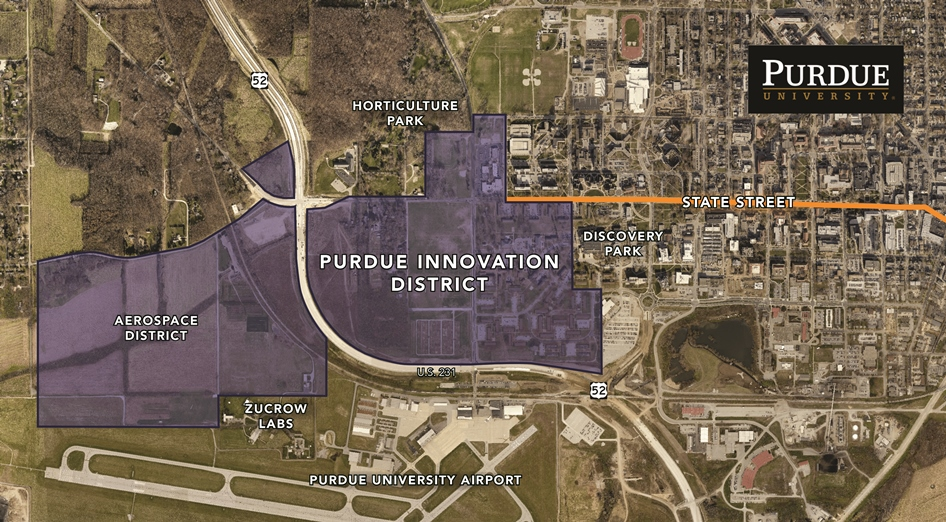 Purdue, Browning partner on $1 billion development district to - purdue university campus