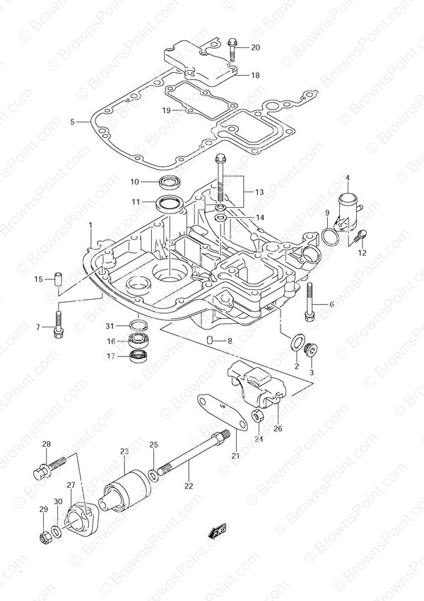 2003 kawasaki engine diagram