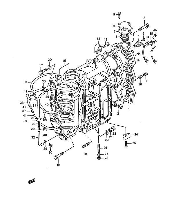 wiring diagram suzuki dt 85 engine