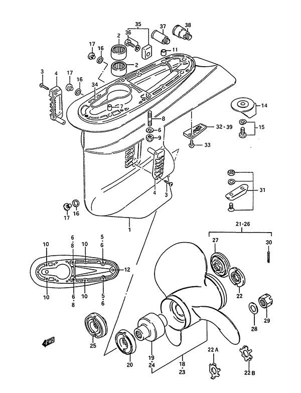 Suzuki Dt 200 Outboard Wiring Diagram Wiring Schematic Diagram