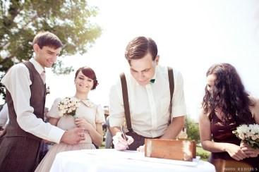 Vintage bryllup