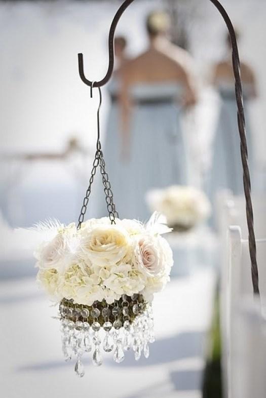 Fjær bryllupsdekorasjon