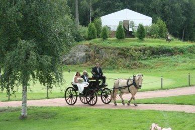 Bryllup på Losby gods
