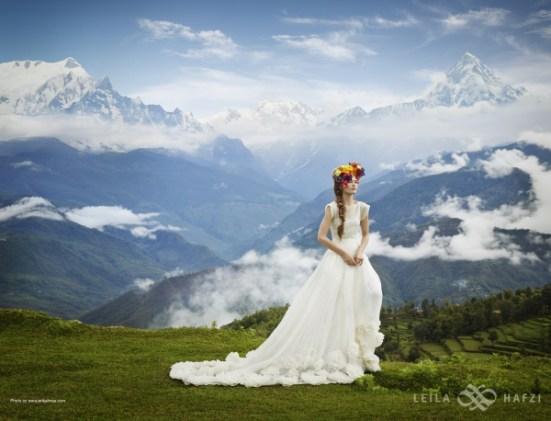 Leila Hafzi brudekjole 2014
