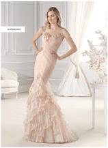 blush brudekjole La sposa 2015