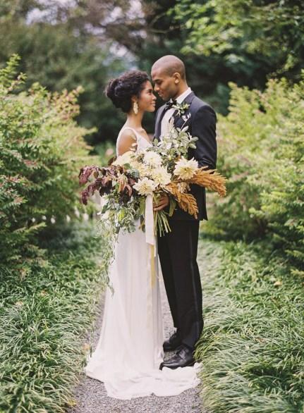 høstbrud-brud-brudebukett-bryllup-høst