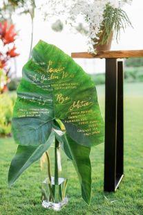 Tropisk-hawai-aloha-strand-fargerikt-bryllup