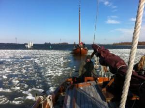botter in ijs Harderwijk