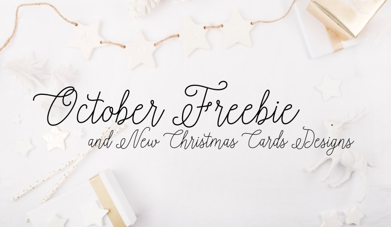 Free Photo Christmas Card Template + New Designs