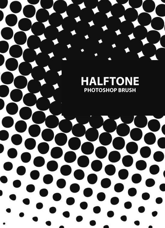 Free Halftone Photoshop Brush Set #485 BrushKing ♛