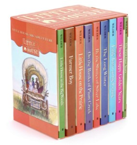 little-house-on-the-prairie-nine-book-set