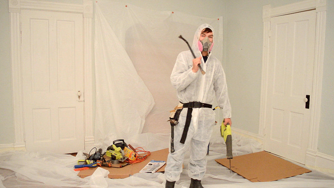 The Demo Daddy {How to Keep Your Family Safe During a Renovation}