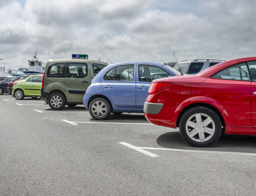How to Deal with a Car Accident in a Parking Lot