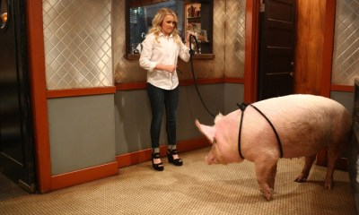 """YOUNG & HUNGRY - """"Young & Piggy"""" - Gabi is determined to prove to Sofia that she can handle being a boss on a new episode of """"Young & Hungry,"""" airing on WEDNESDAY, JUNE 22 (8:00 - 8:30 p.m. EDT), on Freeform. (Freeform/Michael Ansell) EMILY OSMENT"""