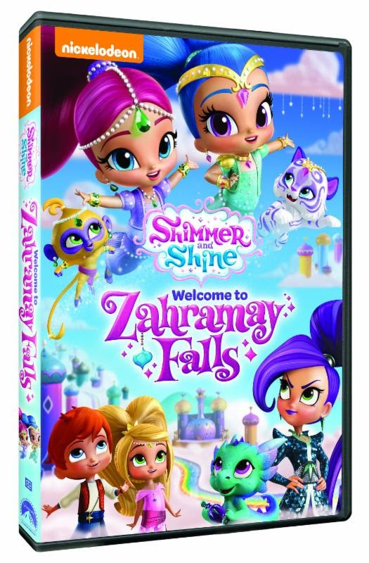 Shimmer and shine welcome to zahramay falls quot available on dvd august