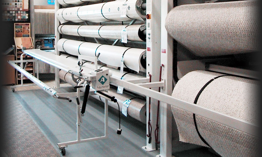 Carpet Roll Storage Solutions Automated Vertical Carousel