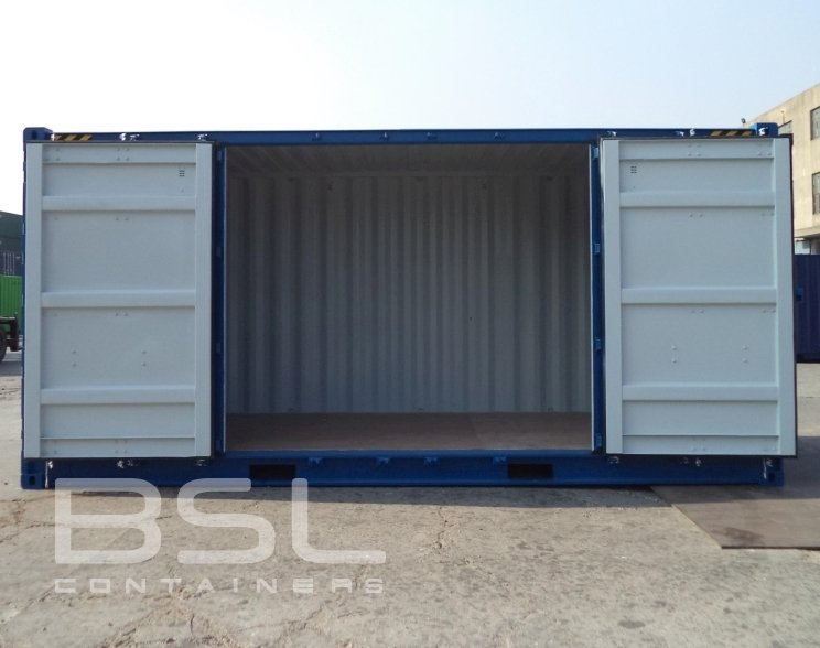 2039 High Cube Open Side Shipping Containers For Sale