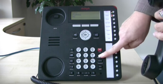 Britannic - Conference call Avaya IP Office 1616 series