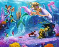 Walltastic Mermaids Kids Wall Mural | Bubs n Grubs