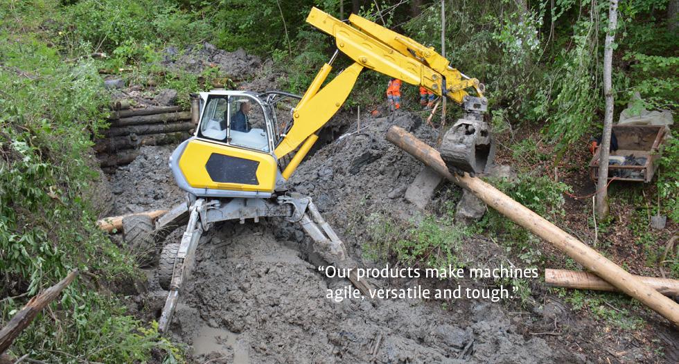 Bucher Hydraulics Innovative hydraulic drive and control technologies