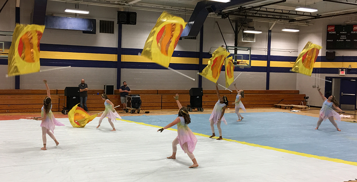 Buckhorn JV Winter Guard